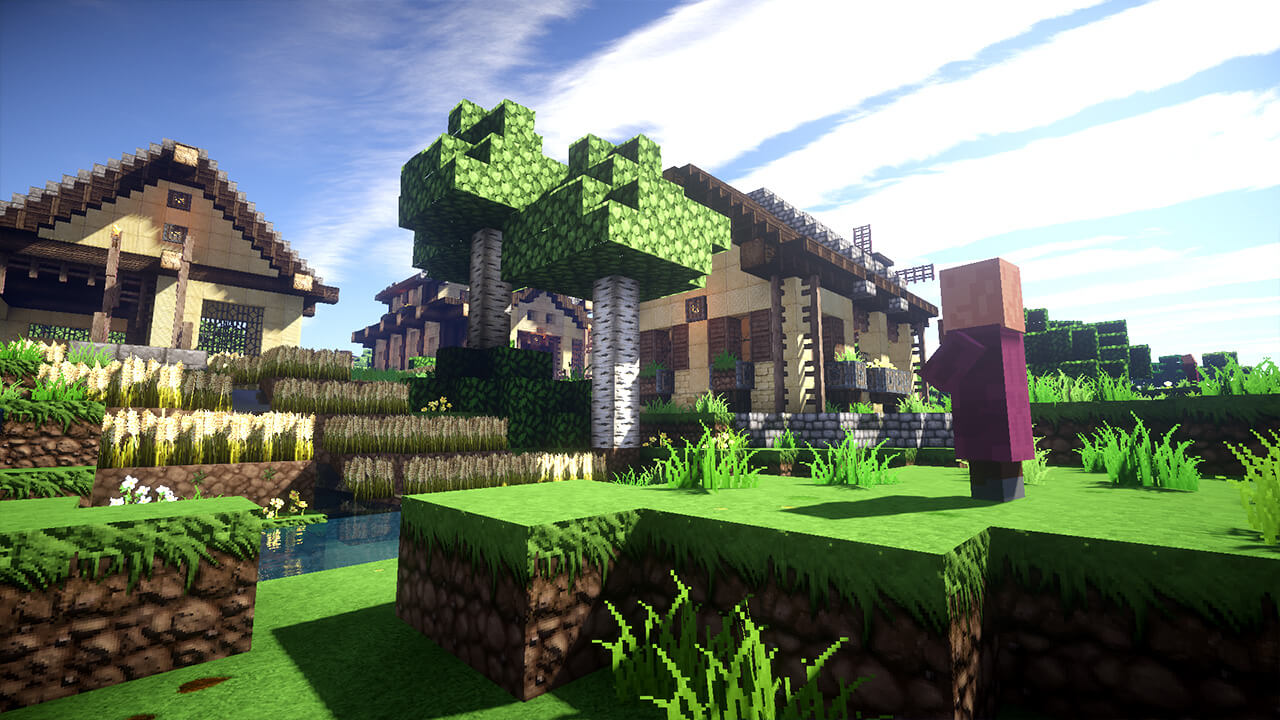Minecraft: A Village from Scratch