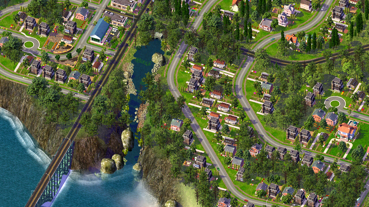 SimCity 4: River Crossing
